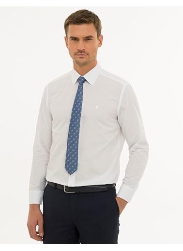 Pierre Cardin Erkek   Gömlek G021GL004.000.1214477.VR013 Beyaz